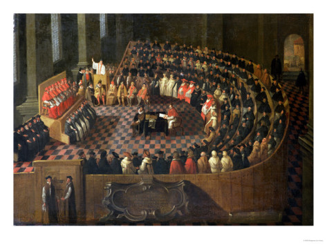 The-first-chapter-of-the-25th-council-of-trent-venetian-school-circa-1630