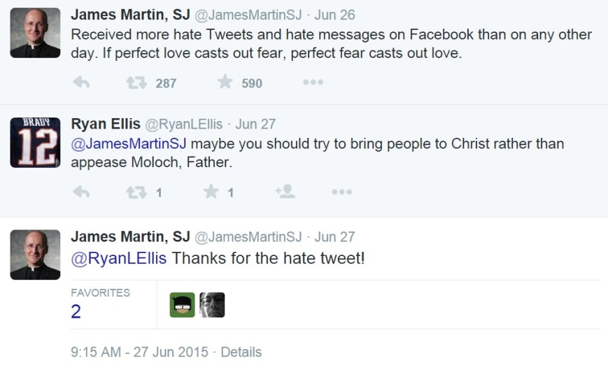 Fr James Martin hate speech