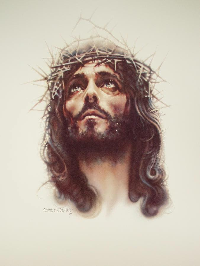 Jesus Christ Crowned of Thorns